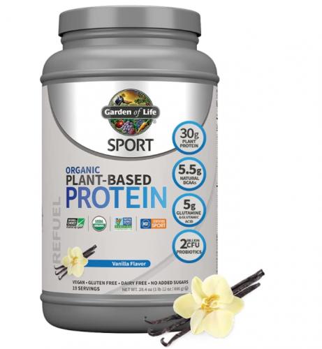 Garden of Life Organic Vegan Sport Protein Powder