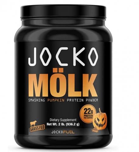 Jocko Molk Whey Protein Pumpkin, best tasting protein powders