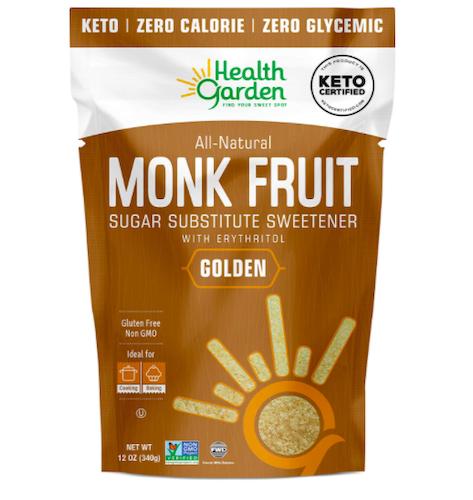Health Garden Monk Fruit Sweetener