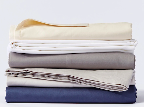 Coyuchi 300-Thread Count Organic Sateen Sheets