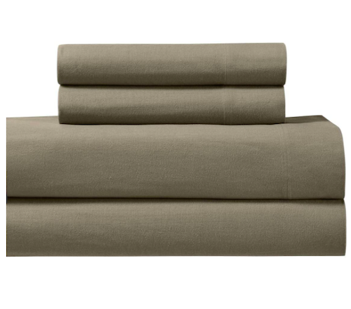 Royal Tradition Heavyweight Flannel Bed Sheets Set