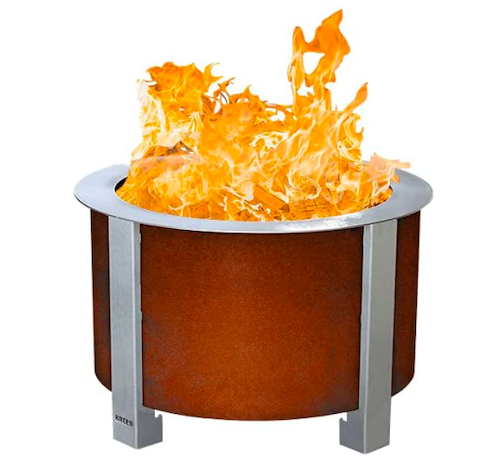 Onlyfire Stainless Steel Outdoor Smokeless Fire Pit