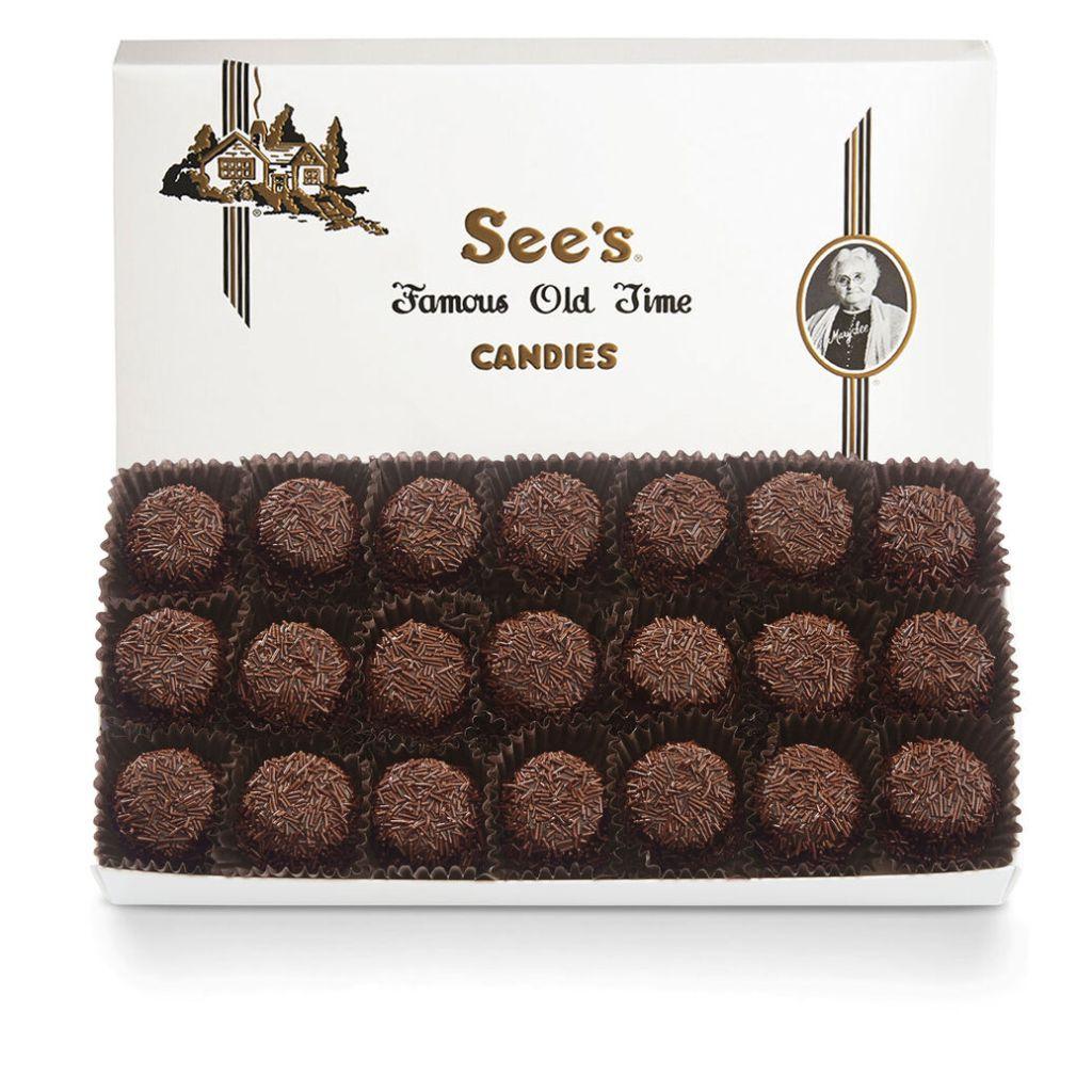 Sees Candy Dark Bordeaux, best dark chocolate