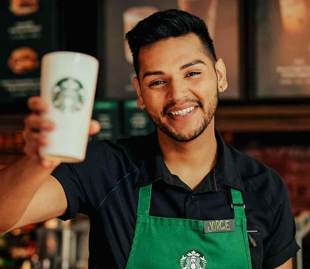 starbucks server coffee day