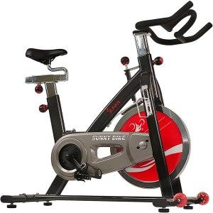 sunny health & fitness exercise bike, budget exercise bikes