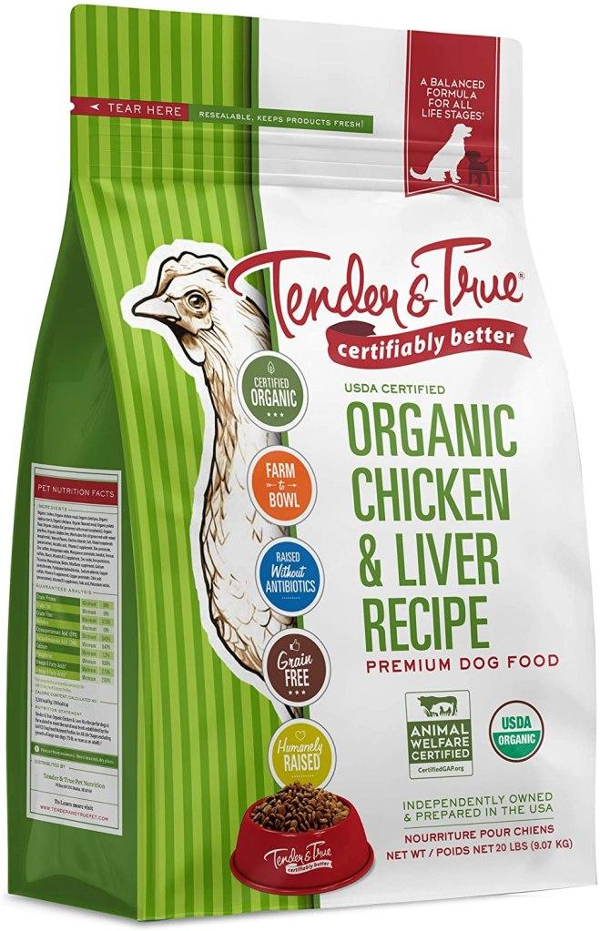 tender true organic chicken liver recipe dog food