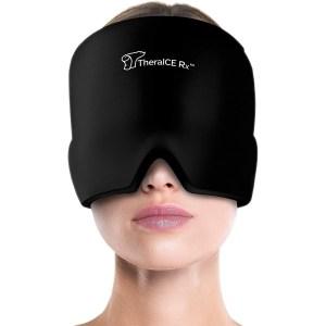 TheraICE form-fitting gel headache hat