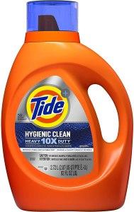 best smelling laundry detergent tide