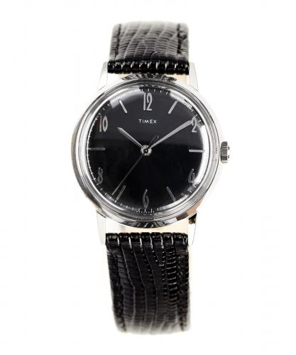 Timex Marlin Blackout 34MM Black Watch