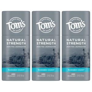 Tom's of maine natural deodorant, do natural deodorants work