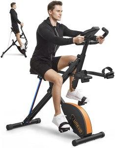 UREVO exercise bike, foldable exercise bikes