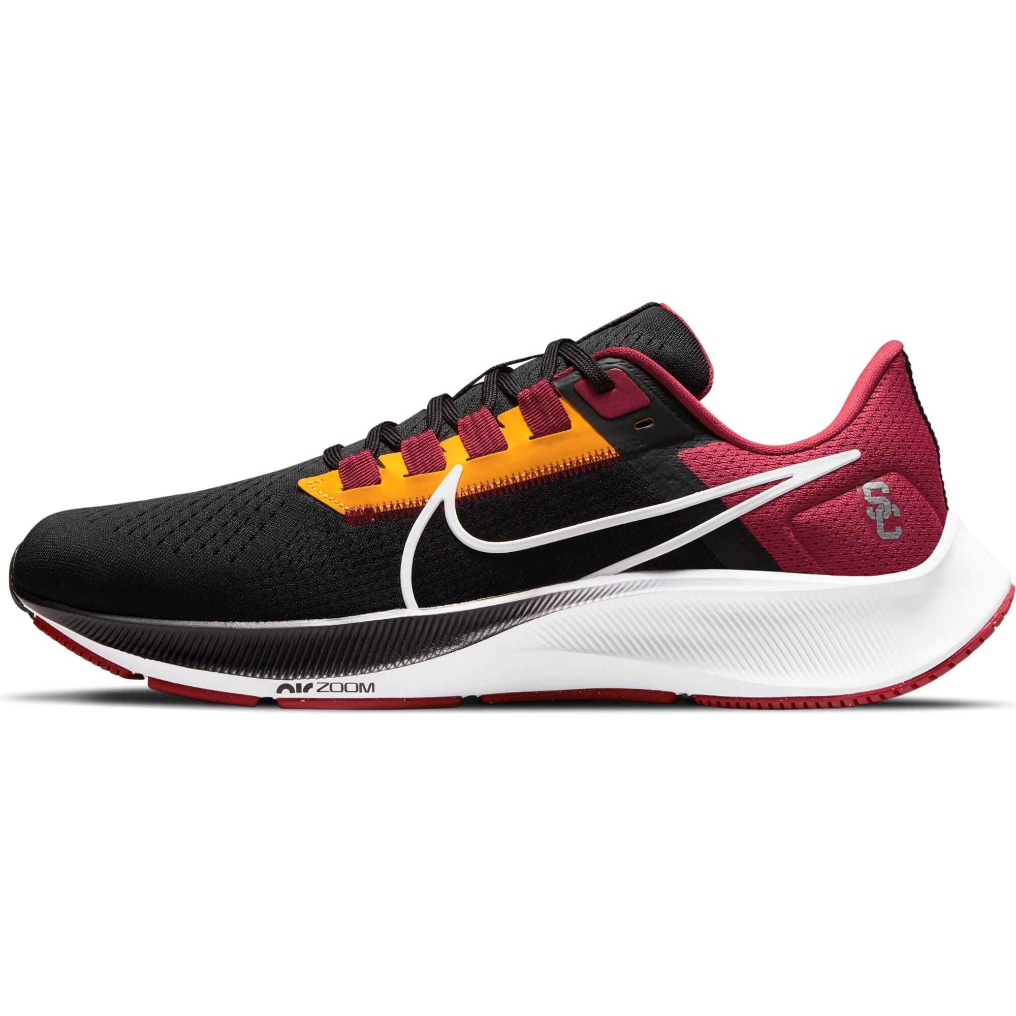 USC Trojans-themed Nike Zoom Pegasus 38 Running Shoe