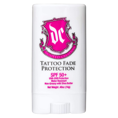 Devoted Creations Tattoo Fade Protection Stick with SPF 50