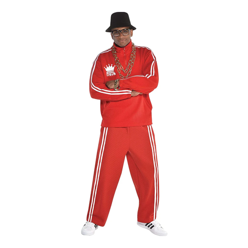amscan Men Old School Rapper Costume