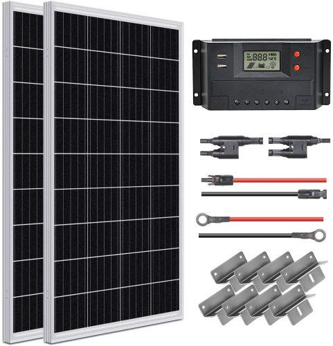 WEIZE Solar Panel Starter Kit