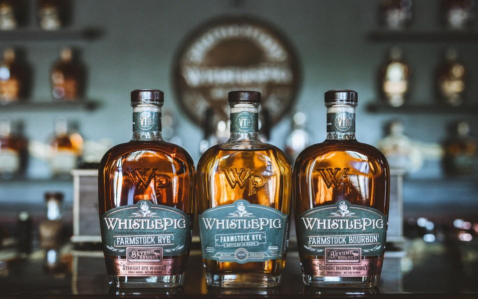 WhistlePig Beyond Bonded bottles