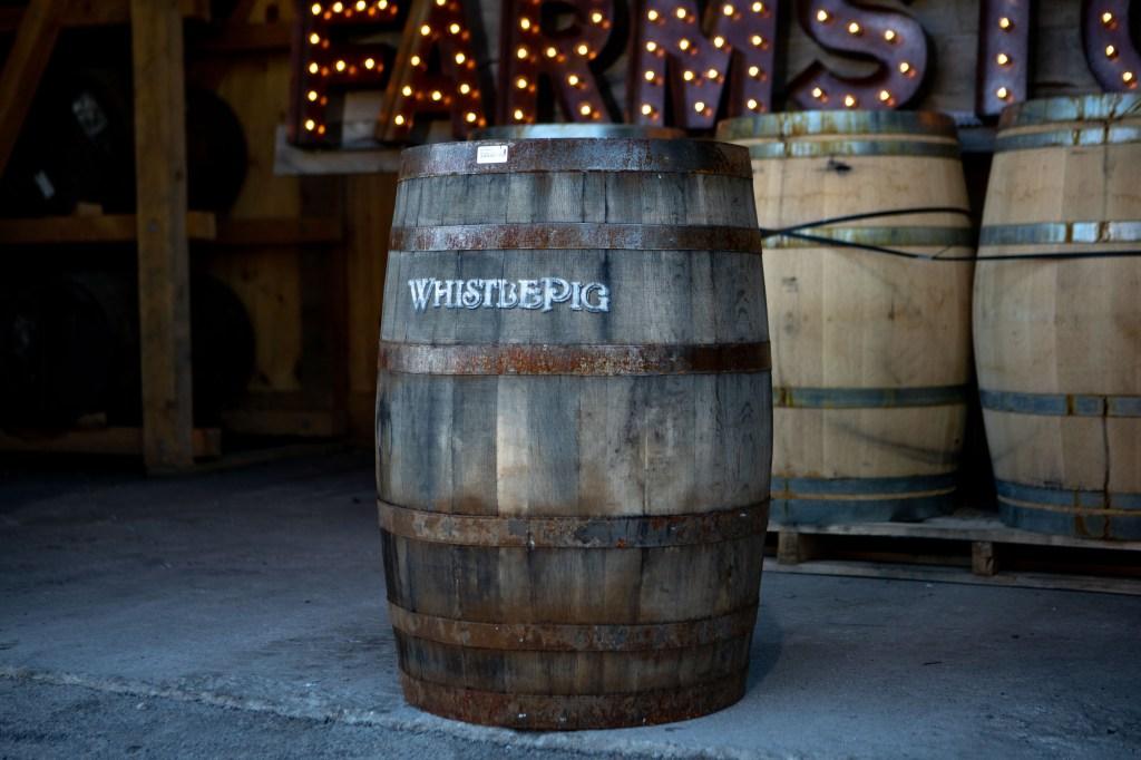 WhistlePig barrel