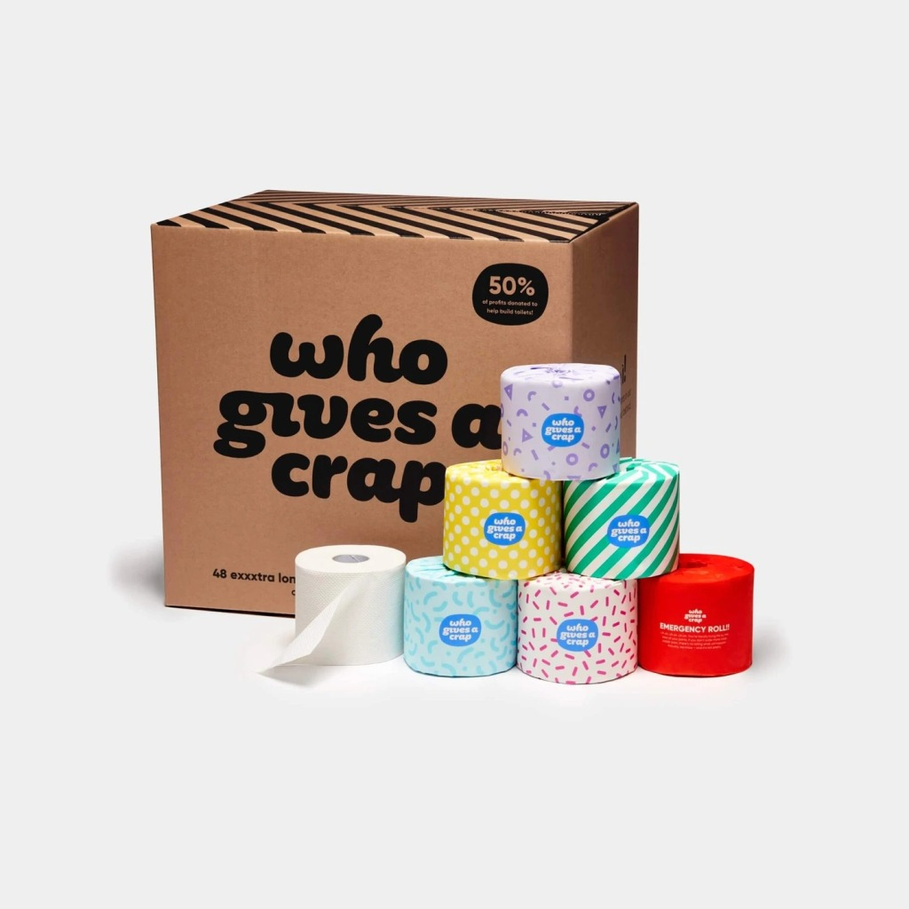 Who Gives A Crap? 100% Recycled Toilet Paper