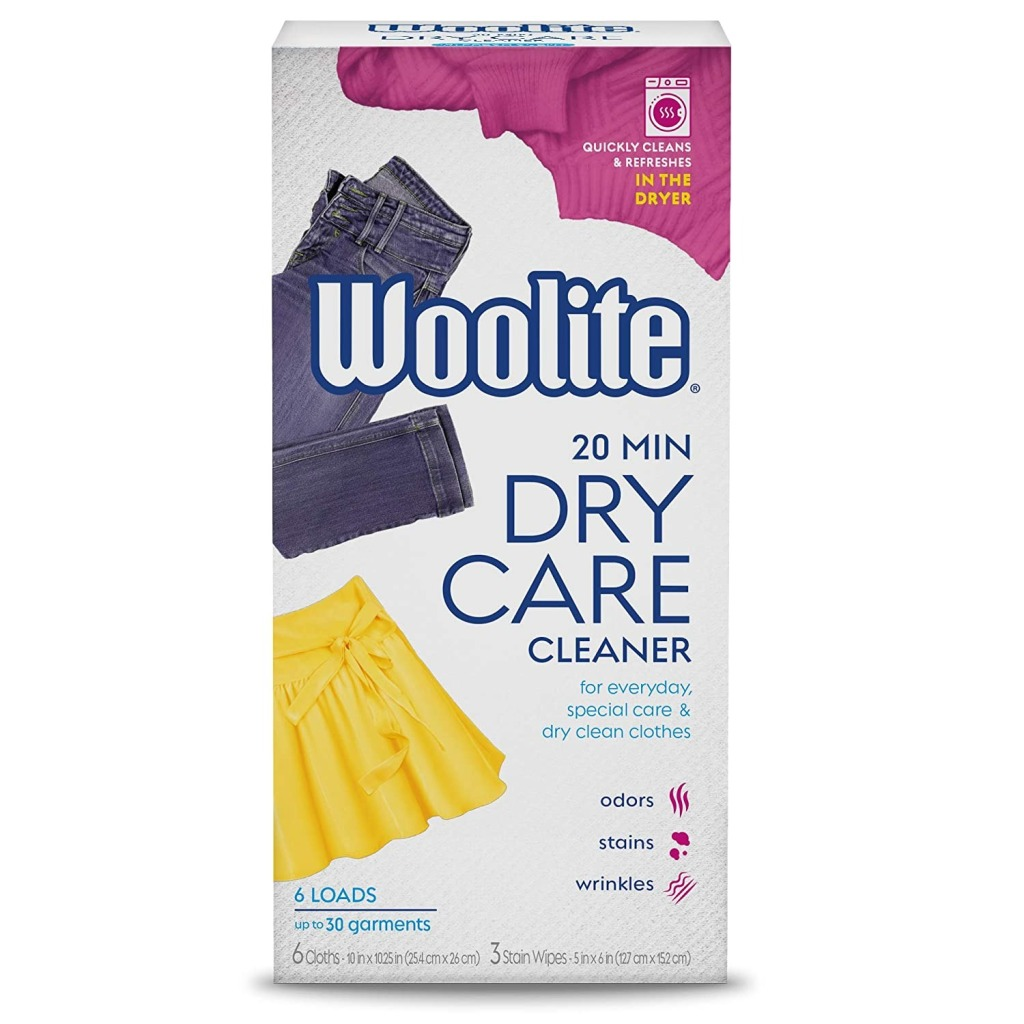 Woolite At-Home Dry Cleaner Sheets