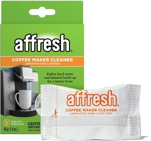 affresh coffee maker cleaner, descalers for coffee pots