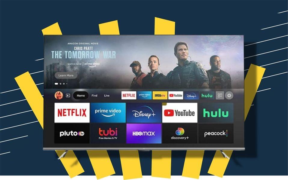 Amazon omni smart tv with hands-free