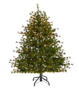 artificial christmas tree from Nearly Natural Colorado Mountain Pine