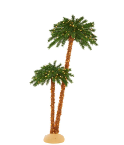 Home Accents Holiday LED Artificial Palm Tree