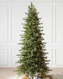 Balsam Hill Red Spruce Slim artificial christmas tree