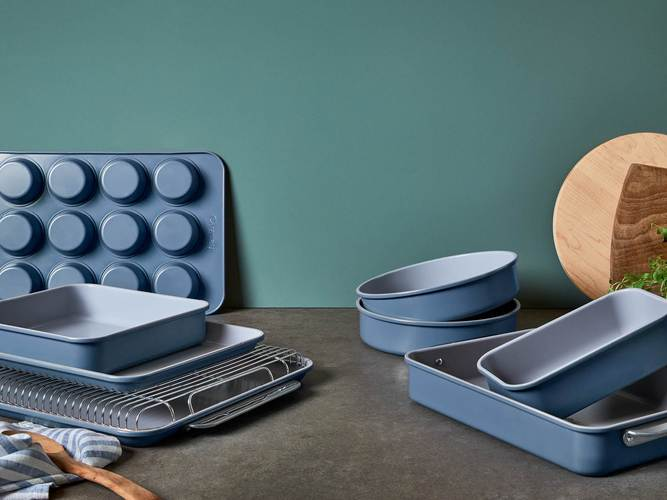caraway bakeware collection