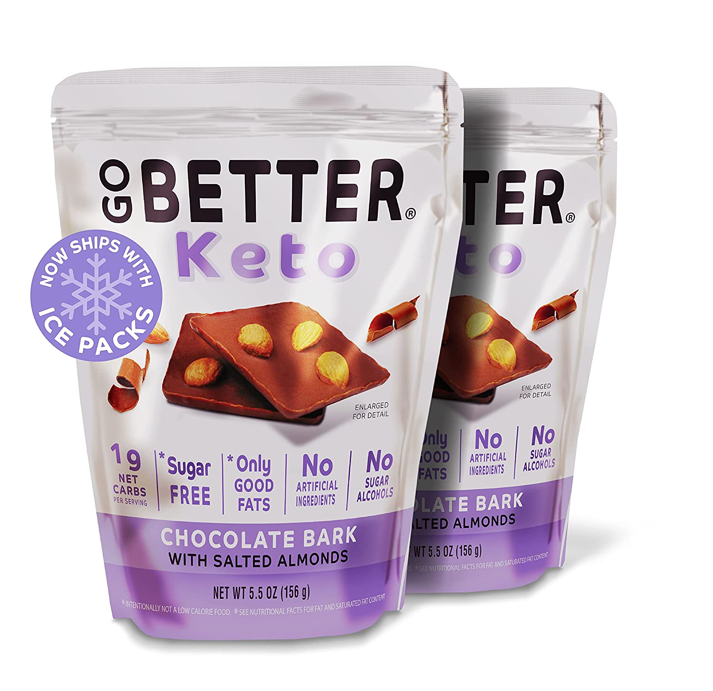 Keto milk chocolate