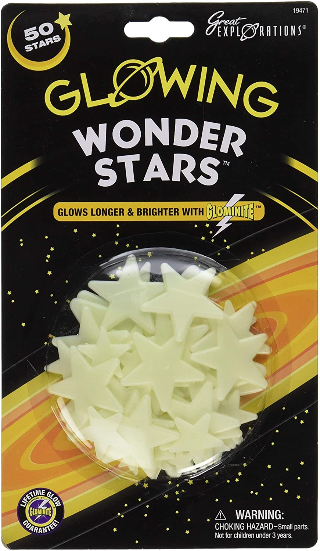 Glow-in-the-dark stars