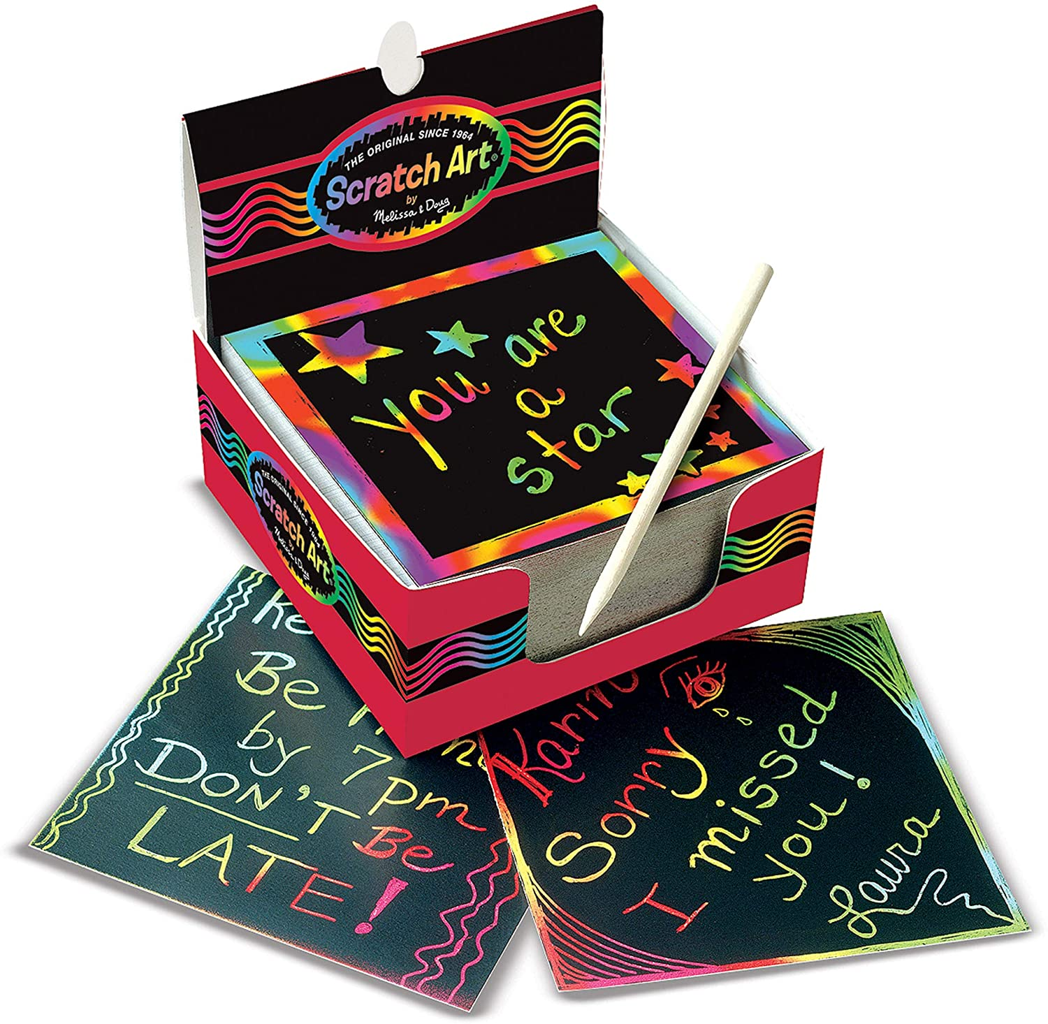 Rainbow notepad for kids