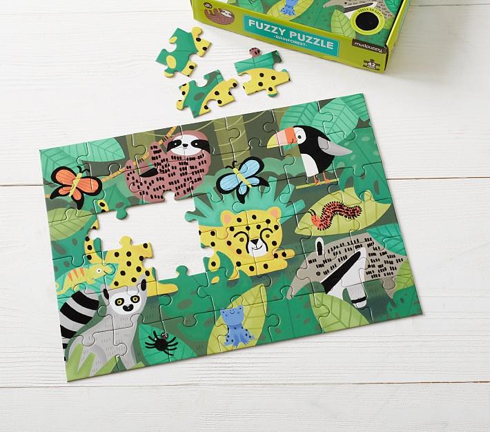 Rainforest puzzle for kids