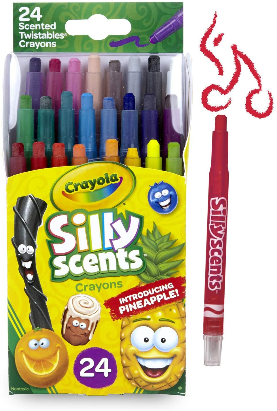 Silly Scent crayons stocking stuffer