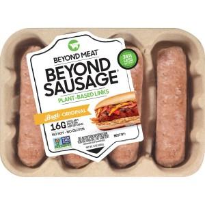 beyond meat sausage links, meat alternatives