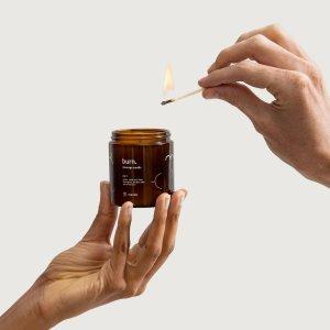 massage candles burn no 1