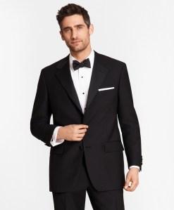 Brooks Brothers tuxedo, wedding attire for men