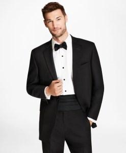 Brooks Brothers 1818 tuxedo, wedding attire for men