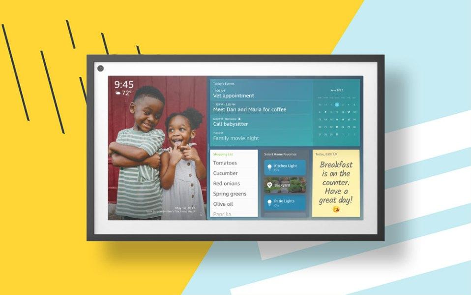amazon echo show 15 launches