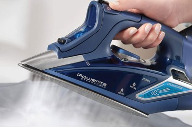 look your best in wrinkle-free clothing with one of these clothing irons