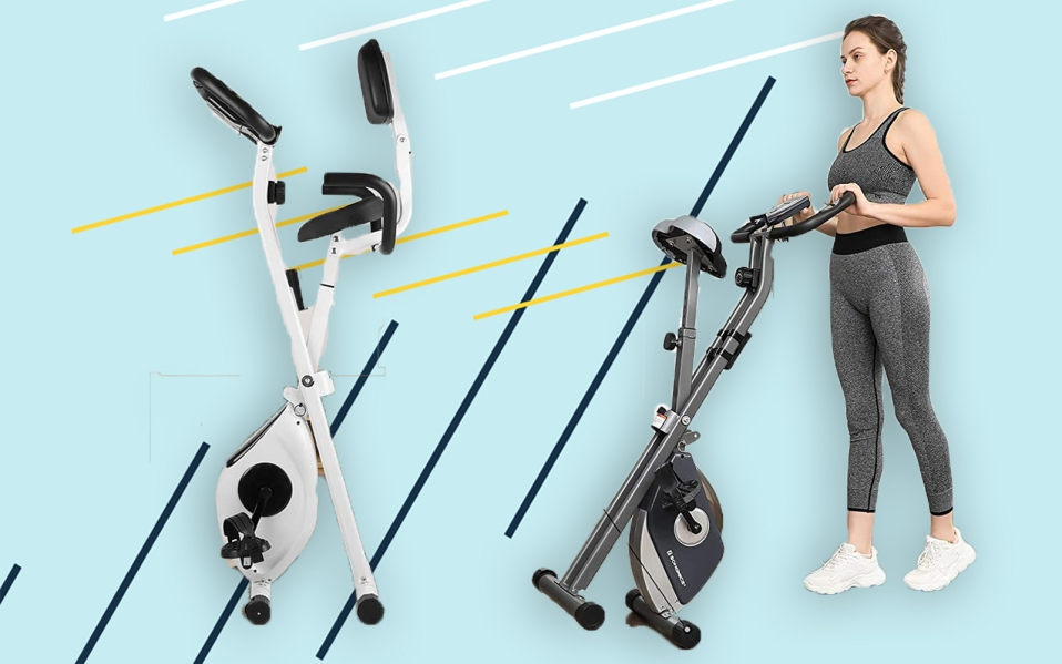 best foldable exercise bikes