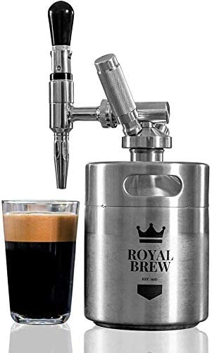 Nitro cold brew maker with keg
