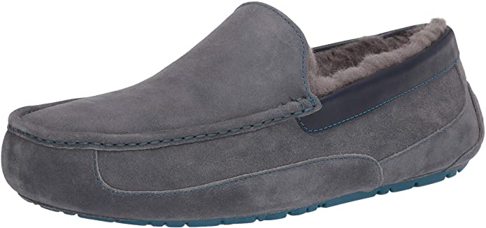 Uggs slippers in blue grey
