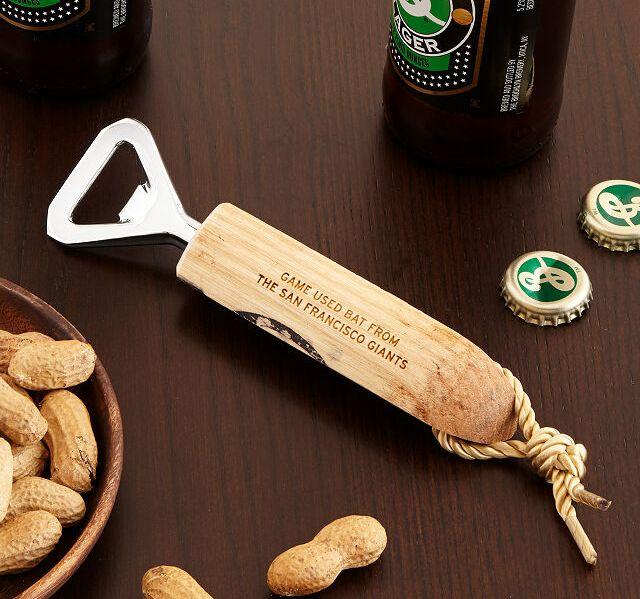 MLB bat bottle opener