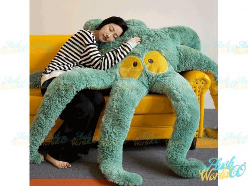 giant stuffed octopus