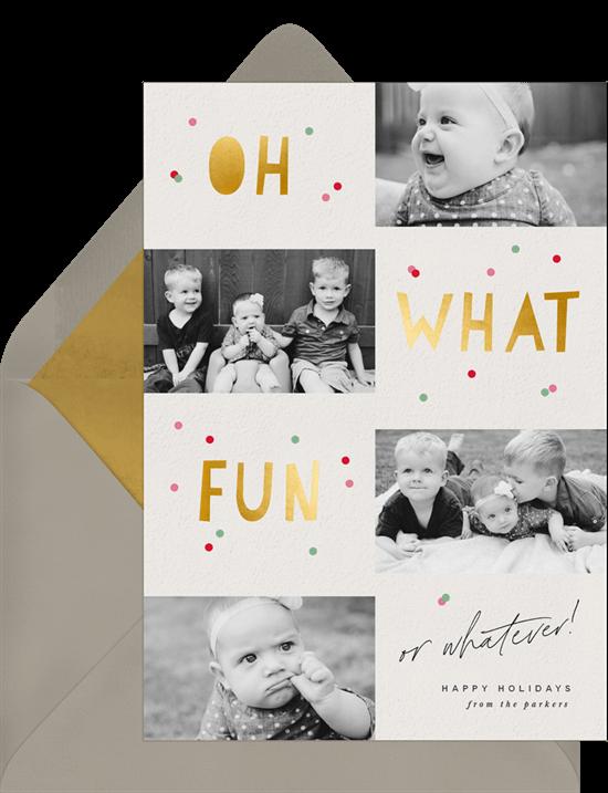 oh what fun virtual christmas card