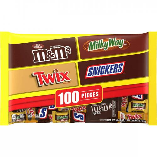 halloween chocolate variety pack