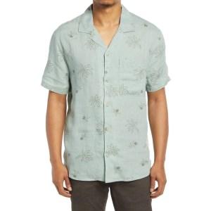 madewell men's easy linen shirt, wedding attire for men
