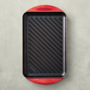 le creuset enameled cast iron grill, cookware deals