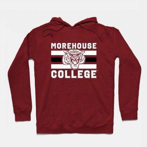 Morehouse Vintage Triple Stripe Hoodie
